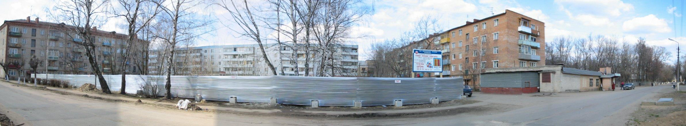 Панорама на будущий дом